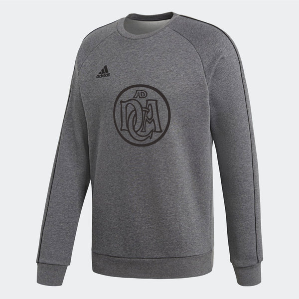 DCADA Adidas Core Sweatshirt Youth / Logo / Grey