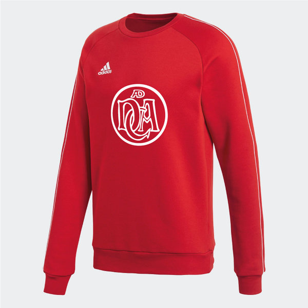 DCADA Adidas Core Sweatshirt Youth / Logo / Red