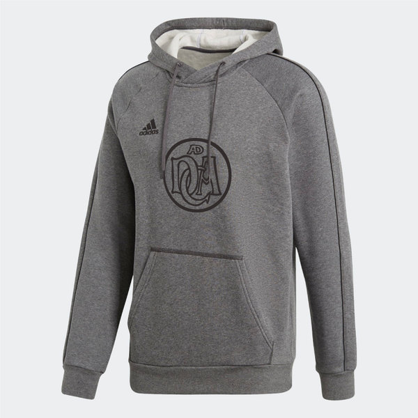 DCADA Adidas Core Hooded Sweat Youth / Logo / Grey
